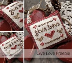 The Little Stitcher free cross stitch