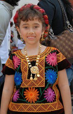 Little Tehuana Chiapas   Mexico