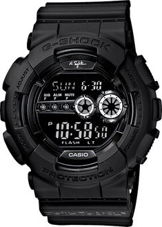 - Based on the successful analog/digtial X-large G series, G-Shock introduces an all digital version line-up. Black resin band digital watch with black face. – Get it now at Mainland Skate & Surf! Casio G-shock, Casio Watch, G Shock Watches, Cool Watches, Watches For Men, Mode Masculine, G Shock Limited, Police Gear, G Shock Black