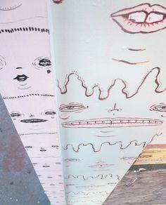 Slimeheads Mural in West Oakland    (www.danielleardenomalley.net)