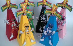 Cone guloseimas Power Rangers no Elo7 | Melzinha Frescurinhas (7867ED) Power Rangers Ninja, Cone, Bernardo, Gabriel, Samurai, Deco, Sweet Like Candy, Stationery Shop, Amor