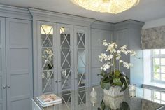 Dressing Room with Island - Richmond-Edwardian - The Heritage Wardrobe Company - Alderley Edge Cheshire
