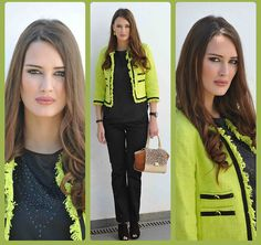 Amina Allam - Cortefiel Outfit - This spring will be neon