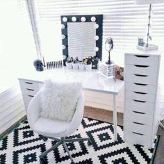 Hoje é dia de penteadeiras no #blogarqteturas #vanitytable...