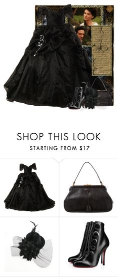 """""""Wuthering heights"""" by fashionrushs ❤ liked on Polyvore featuring Prada and Christian Louboutin"""
