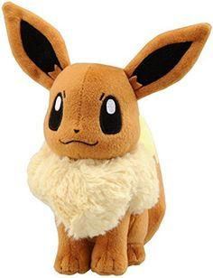 Pokemon Eevee Anime Animal Stuffed Plush Toy, 6-Inch
