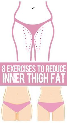 Your inner thighs can be magnets for fat, but the right exercises can go a long way in eliminating that extra padding. Keep in mind, however, that no exercise can target fat in a specific area. To lose inches on your inner thighs, you must burn fat on you