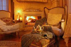 Aiken House & Gardens: Romantic Fireside Tea