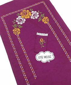Basic Embroidery Stitches, Hand Embroidery, Pakistani Bridal Wear, Prayer Rug, Bed Covers, Cross Stitch Patterns, Diy And Crafts, Prayers, Cross Stitch Rose