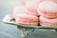 what could be better than pink macarons?!