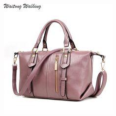 Luxury Handbags Women Brand Designer Hobos Bag Leather Ladies Messenger Zipper Bag Shoulder Bags Bolsas Femininas b056