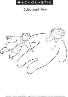 the snowman raymond briggs writing activity for high school