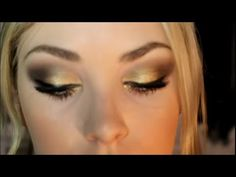 Great makeup tutorial with the Urban Decay Naked 2 Pallette!!!!  Gold Bronze Makeup Tutorial Ft. Naked 2 Palette
