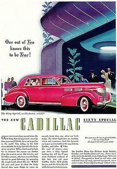 1940 Cadillac Sixty Special - Promotional Advertising Poster