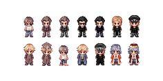 Chibi Ragnarok Characters by AtskaHeart