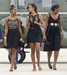 Michelle and daughters