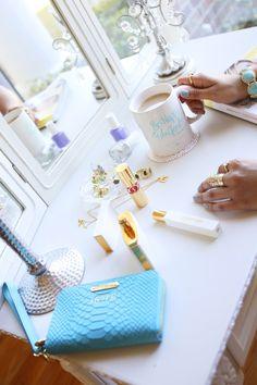 GiGi New York   Aqua Phone Wallet Wristlet   Haute Off The Rack Fashion Blog