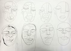 Facial abstraction