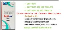 Anticancer medicines like Gefitinib 250mg Tablets by SPECIALITY PHARMA manufacture in India are provided by ODDWAY International pharmaceuticals at wholesale prices with maximum discount prices. We are online cancer and anticancer including other specialty medicines in field of Nephrology, Rheumatology, Neurology, Diabetic, Endocrinology  medicine supplier and distributor from India to worldwide with fastest shipping  of all  medicines.