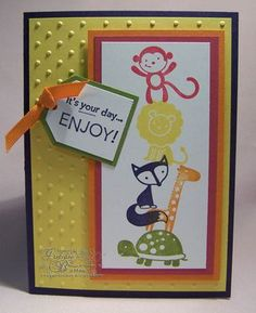 kids card, fox and friends#Repin By:Pinterest++ for iPad#