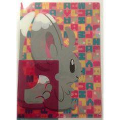 Pokemon Center 2013 Poke Tail Campaign Minccino A4 Size Clear File Folder