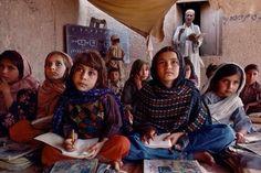 Retratos de Afganistán  Steve McCurry