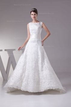 Lafa Rila Modest and Elegant A Line High Low Bateau Beading Lace Satin Tulle Court Train Wedding Dress 2013 is handcrafted just for you. Shop quality cheap wedding dresses with discount! Corset Back Wedding Dress, Wedding Dress 2013, Cute Wedding Dress, Wedding Dresses Photos, Fall Wedding Dresses, Colored Wedding Dresses, Wedding Attire, Bridal Dresses, Wedding Gowns