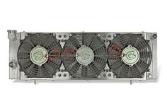 Direct-Fit Flex-a-fit® Aluminum Radiator and Electric Fans for '87-'01 Jeep Cherokee