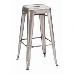 Maceo Barstool Gunmetal   We have two sizes of this stool: one is The Bar Stool and the Counter Stool. Ranges for $109.99-129.99. And if you avail today tip July 8, you could take of 20% off with the COUPON CODE: JULY20.  CHeck it out, click the link: http://amarineswife.athome.com/80106110-maceo-barstool-gunmetal.html