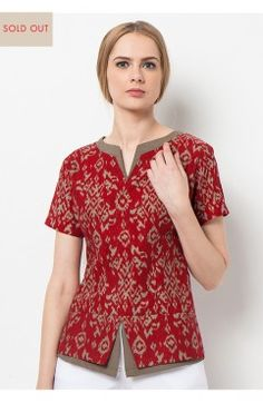 Modern wardrobe essentials wrapped in the infinite beauty and refinement of Batik Heritage. Batik Kebaya, Batik Dress, Blouse Dress, Blouse Batik Modern, Batik Blazer, Mode Batik, Batik Fashion, Batik Pattern, Blouses For Women