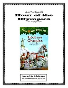 Olympic Fun!!! #16 Magic Tree House- Hour of the Olympics Novel Study