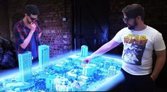The First True Multi-User Holographic Table Has Been Built https://link.crwd.fr/1ufq