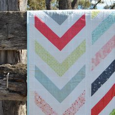 Easily converted into a quilt of several different sizes by adjusting the size of your HST pieces and adding more rows to the modern quilt pattern, this would make a lovely bed or throw quilt. Coming together quickly, this quilt top makes a stunning
