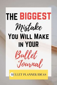 ARE YOU MAKING THIS GIANT BULLET JOURNAL MISTAKE? READ THIS BEFORE YOU OPEN YOUR JOURNAL NEXT! Click to read more. Bullet Journal Headers And Banners, Monthly Bullet Journal Layout, Bullet Journal Mood Tracker Ideas, Bullet Journal Printables, Bullet Journal Themes, Bullet Journal Inspiration, Journal Ideas, Bullet Journal Gifts, Bullet Journal For Beginners