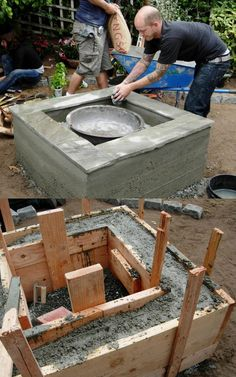 24 backyard outdoor fire pit ideas such as DIY in ground fire pits, best kits & designs for wood burning fire pit tables & grills, concrete fire bowls, etc! – A Piece of Rainbow #backyard #patio #outdoor #spring #summer #homestead #homesteading #diy #gardens #gardendesign #gardenideas #landscaping #landscape landscaping, landscape design, garden party, entertaining outside Round Fire Pit Table, Fire Pit Coffee Table, Outdoor Fire Pit Table, Diy Fire Pit, Fire Pit Backyard, Backyard Patio, Fire Table, In Ground Fire Pit, Wood Fire Pit