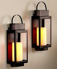 Add the realistic look of a flickering candle to your indoor decor with this Remote Control LED Wall Sconce. The decorative sconce comes with an LED candle that flickers with amber light. The remote c Black Wall Sconce, Indoor Wall Sconces, Bathroom Wall Sconces, Candle Wall Sconces, Outdoor Wall Sconce, Wall Sconce Lighting, Wall Fixtures, Bathroom Lighting, Sconces Living Room