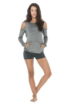 Razor Pullover Cute Yoga Clothes | SHOP @ FitnessApparelExpress.com