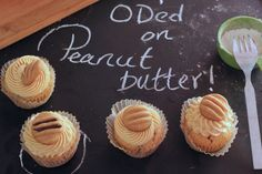 awesome Od'ed on Peanut Butter Cupcakes