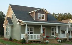 Craftsman style modular homes craftsman elevation for Country style modular homes