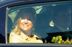 """Máxima and Alexander accompanied the Swedish royals to the Botanical Gardens in Leiden. This happened during the Swedish royals"""" state visit to The Netherlands 22 April 2009"""