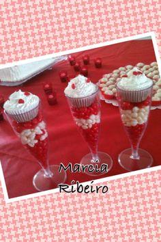 Cupcake na taça
