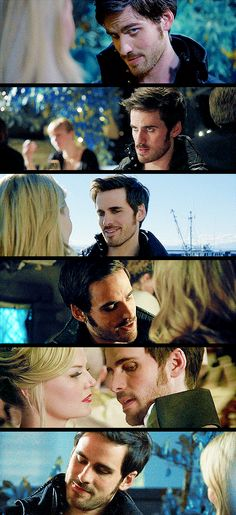 "Captain Hook | Killian Jones ♡ ""How could she say no to that face?"""