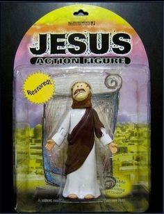 Nueva Figura de acción. Jesús Ahora restaurado