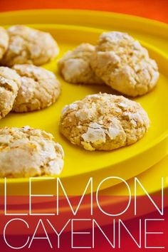 Lemon Cayenne Cookies from @Greg Henry | Sippity Sup could be my dream cookie...