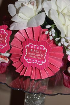 American Girl Tags    Party Decor, Tags, Labels, and much more from the White EG by Kroma Design Studio; contact us: thewhiteeg@gmail.com for a custom order.    {FEATURED PARTY} American Girl Birthday Party ~ Kroma Design Studio Parties & Events