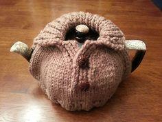 hand knitted Tea Cozy - So cute!