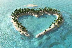 Immagine: Isole dalle forme strane: luna, cuore e… | SiViaggia