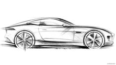 2015 Jaguar F-Type R Coupe  - Design Sketch, 1920x1080, #58 of 62