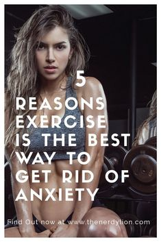 Do you still have Anxiety and can't get rid of it? Exercise is the best way to alleviate anxiety and it will leave you feeling strong and healthy. This is the alternative to drugs and medications. Get Rid Of Anxiety, Stress And Anxiety, Health And Wellness, Health Fitness, Mental Health, Just Do It, How Are You Feeling, Anxiety Facts, Depression Symptoms