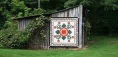 Quilt Barn -Confederate Rose - Rutledge, TN